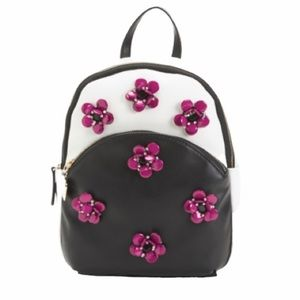 NWT Betsey Johnson Bloomin Good Time Backpack